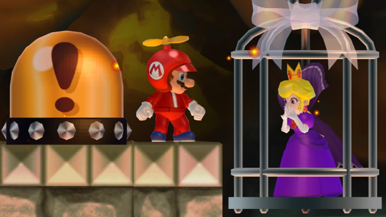 Mario Wants To Rescue Shadow