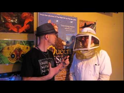 "The Insect News Network @ ""Queen of the Sun"" Movie Premiere in Cupertino, CA"