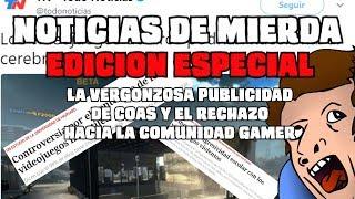 """NOTICIAS DE MIERDA EDICIÓN ESPECIAL: """"NO COMPRES VIDEOJUEGOS, SALVA VIDAS REALES"""""""
