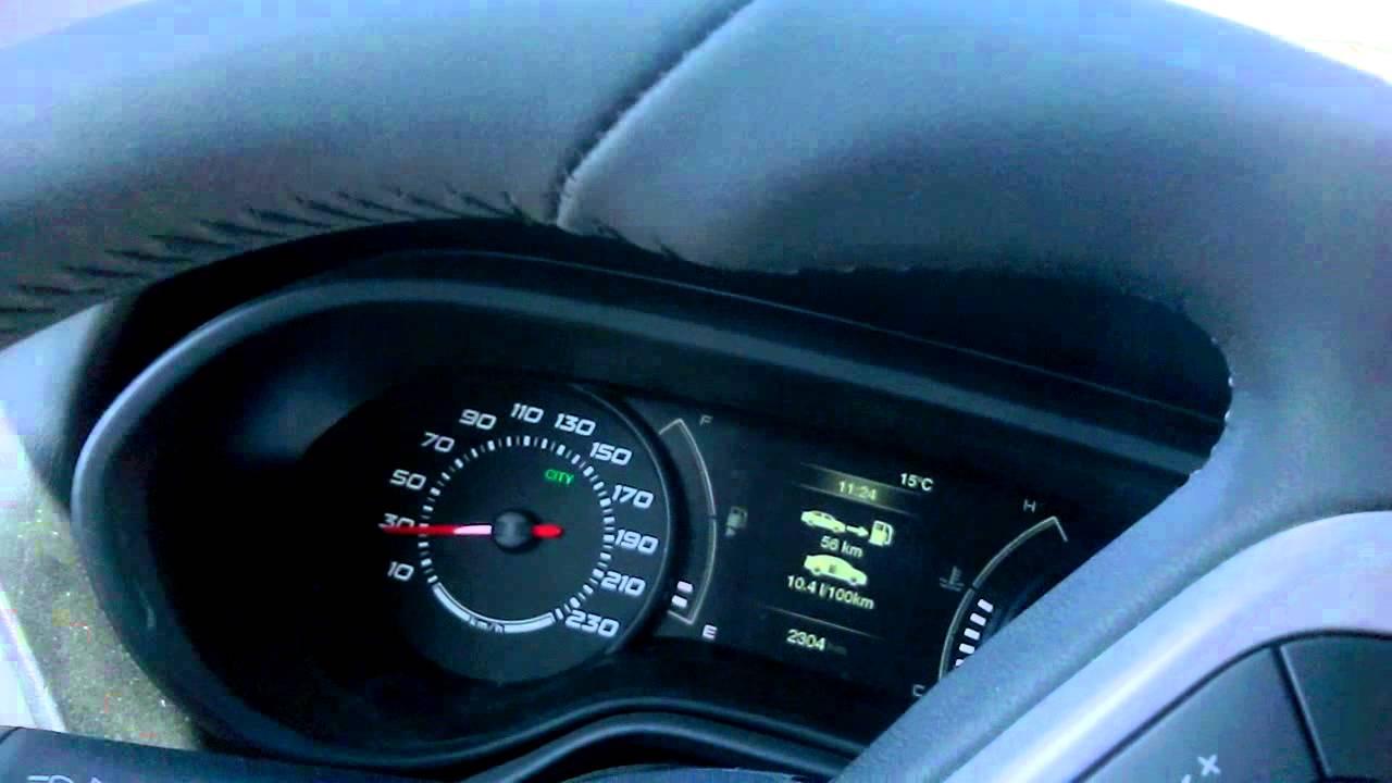 fiat egea 1.4 urban yakıt tüketimi 90kmh - youtube