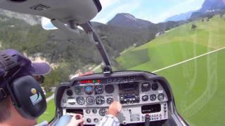 Start+Landung /Take Off and Landing / Flugplatz Kufstein / Langkampfen (LOIK) - Robin DR 400