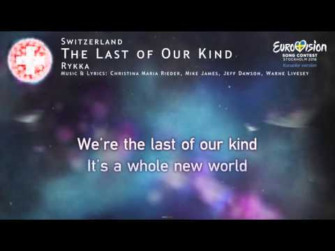 Rykka - The Last of Our Kind (Switzerland) - [Karaoke version]