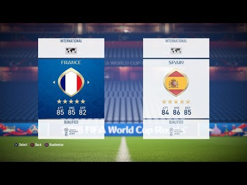 ALL WORLD CUP 2018 TEAM RATINGS !! | NEW WORLD CUP FIFA 18 DLC (,TEAMS, BADGES, NATIONS)