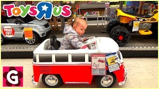 Gaby doing Shopping at Toys Store