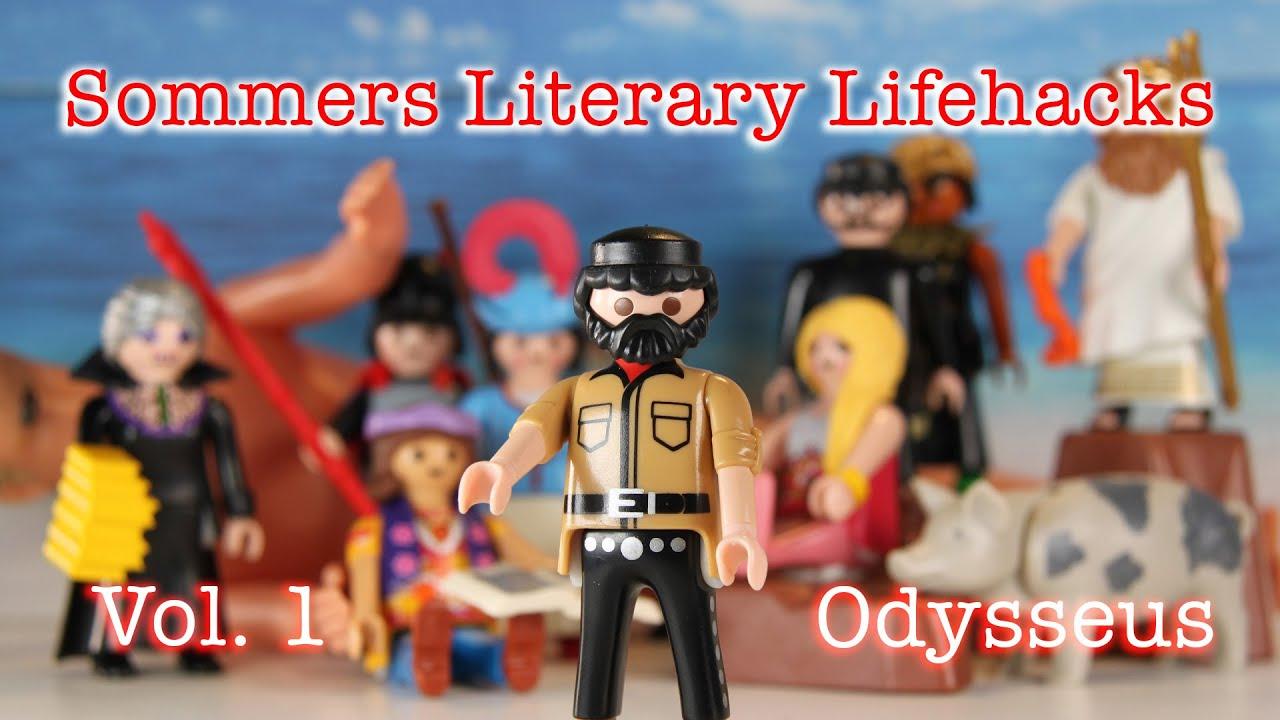 Literary Lifehacks Vol 1 - Odysseus