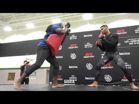 UFC on FOX 31: Kevin Lee Open Workout (Complete) - MMA Fighting