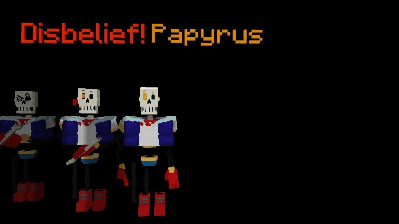 Disbelief papyrus full animation