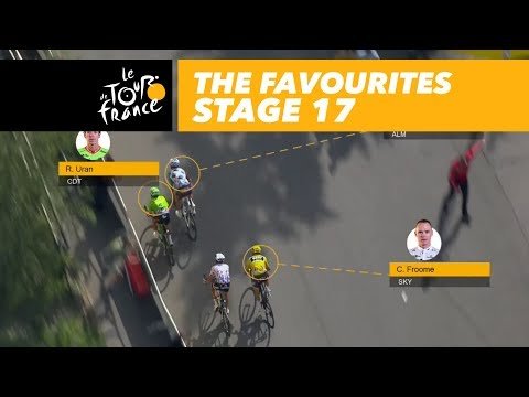 The sprint of the favourites - Stage 17 - Tour de France 2017