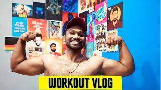 My Workout Vlog| Vijay Viruz