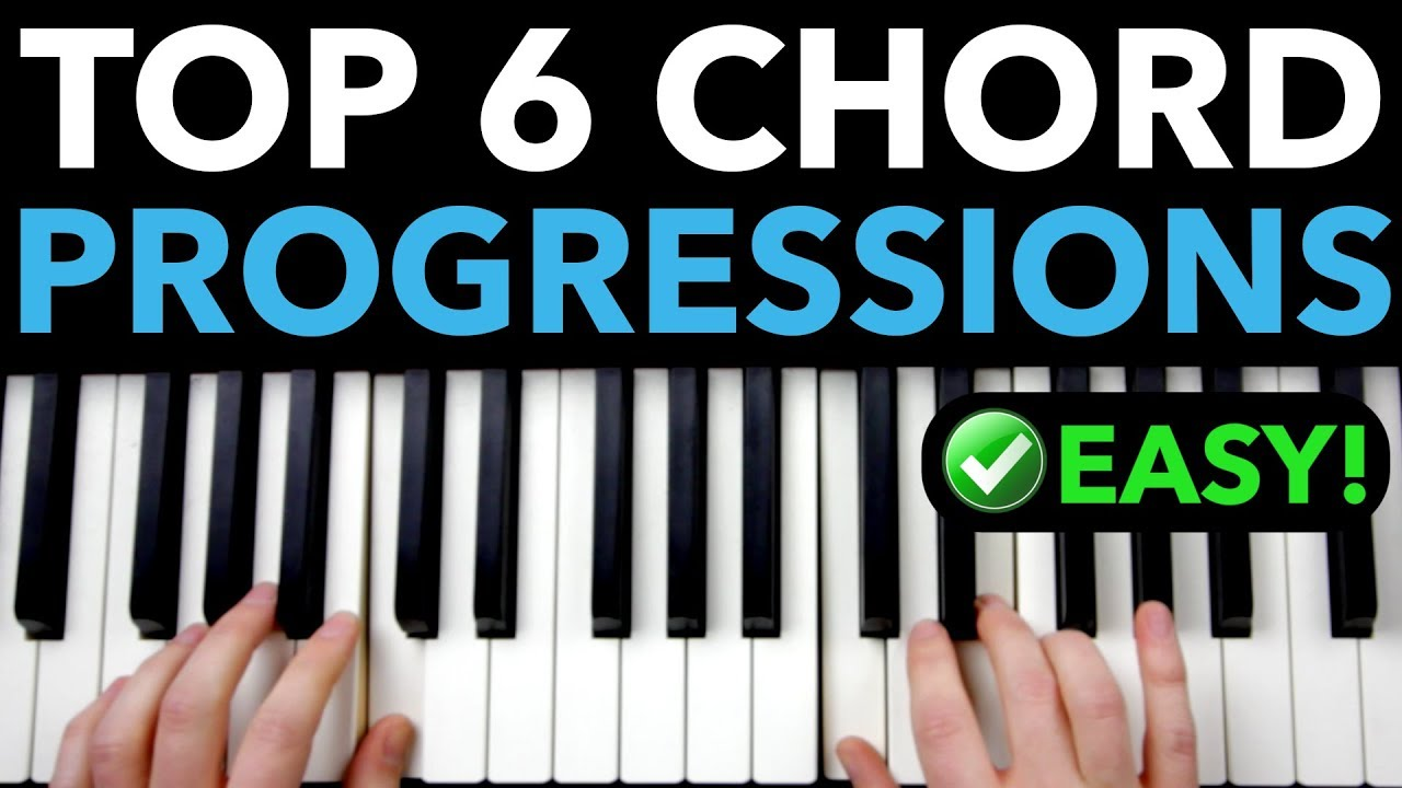 15 BEST Chord Progressions for Piano Beginners EASY