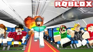 ESCAPE A PLANE CRASH IN ROBLOX
