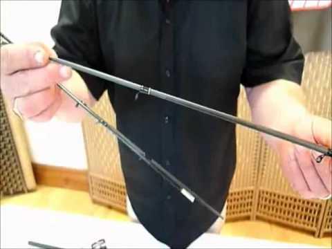 Grandeslam Carbo Transformer 12ft Quiver Tip Fishing Rod