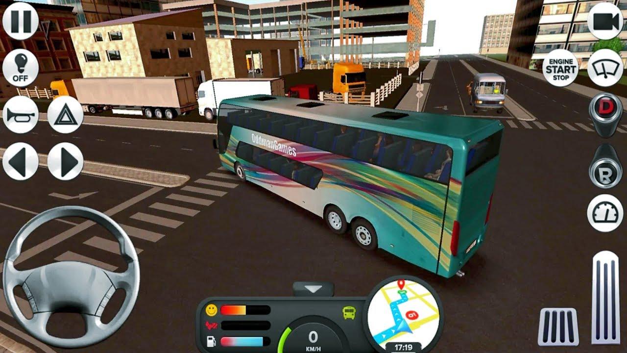 Coach Bus Simulator #21 Dangerous Rides! 😅😂 – Android IOS gameplay walkthrough