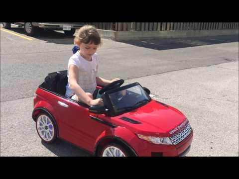 Range Rover Evoque Style Kids Ride On Toy Car