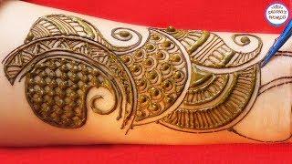 Full Hand Arabic Mehndi Design   Latest Mehndi Design   Saloni's World