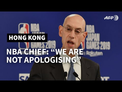 'We are not apologising' over Hong Kong tweet: NBA chief | AFP