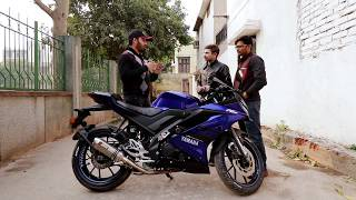 YAMAHA R15 V3 OWNERSHIP REVIEW | BORN CREATOR
