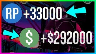 How To Make $292,000 & 33,000+ RP PER GAME in GTA 5 Online | NEW Best Unlimited Money Guide/Method