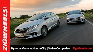 Hyundai Verna vs Honda City | Sedan Comparison ...