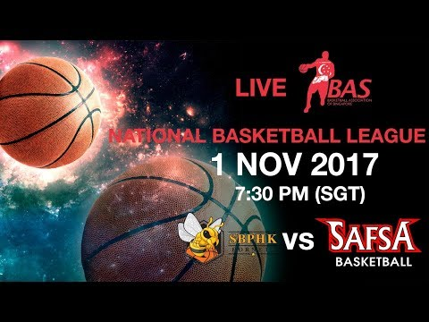 SBPHK Hornets vs SAFSA | National Basketball League 2017 🏀