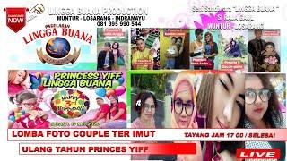 Gambar cover LIVE  STREAMING ULTAH PRINCES YIFF DAN LOMBA COUPLE