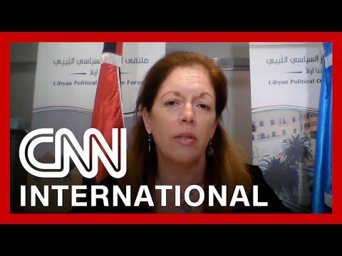 CNNi: Hear from UN official mediating Libya peace talks
