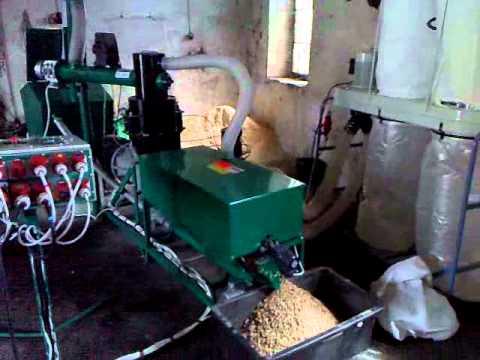 MGL 400 , wood pellets, wood pellet machine pellet mill pelletpresse pellettatrice