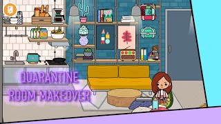 Quarantine Student Room MAKEOVER | Part 3 | Student Quarantine Story | Toca Life