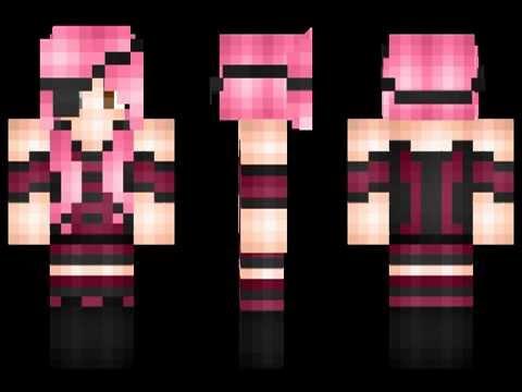 Los Mejores Skin Para Chicas En Minecraft YouTube - Skins para minecraft pe mujeres