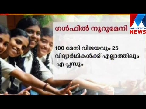SSLC: 100% pass in gulf schools | Manorama News