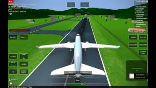 (ROBLOX) Air Canada A330 landing in 40 MPH crosswinds