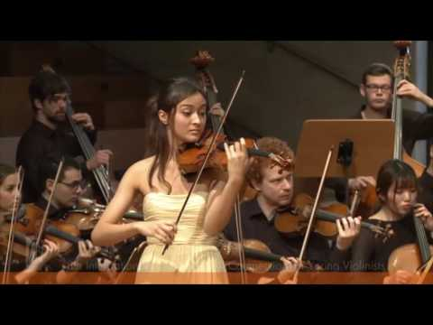 SPOHR Violin Competition: Sumina Studer   F. Mendelssohn Violin Concerto 3rd movement
