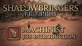 Ffxiv Shadowbringers Machinist Job Introduction