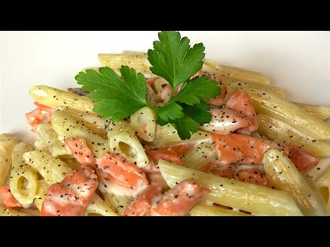 Smoked Salmon Pasta - Cooking Simple Recipes