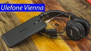 ulefone Vienna: анбоксинг музыкального смартфона. Распаковка и предварительный обзор Ulefone Vienna