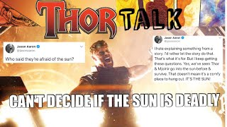 The Sun is NOT Consistent with Thor Writer Jason Aaron