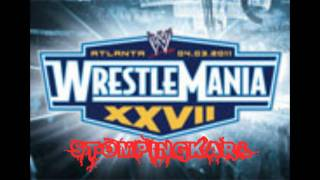 WWE Wrestlemania XXVII OFFICIAL Theme song 2011''Written in the stars'' + Download Link [HD]