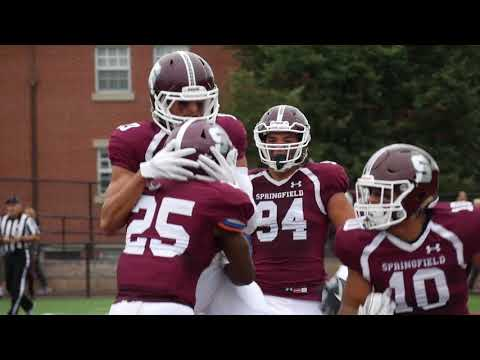 Springfield College Football Highlights - September 30, 2017