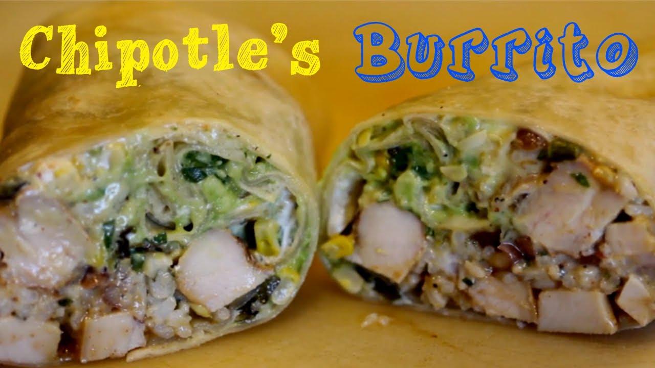 burrito chipotle rice cilantro lime