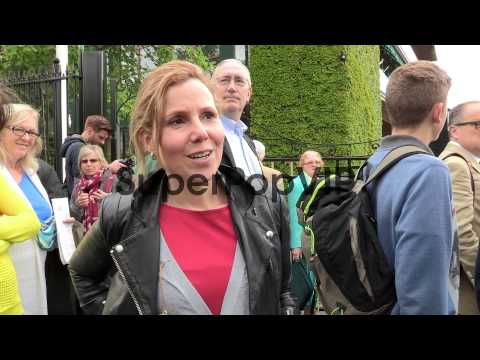INTERVIEW - Sally Phillips at Video Sightings at Wimbledo...