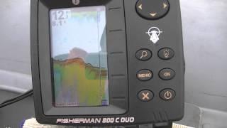 видео Продажа эхолота JJ-Connect Fisherman 750 Duo. Купить эхолот JJ-Connect Fisherman 750 Duo
