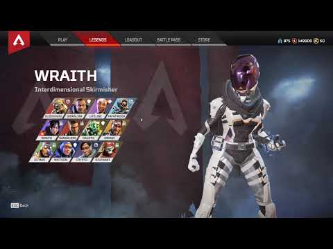 APEX LEGENDS FULL ACCOUNT SELLING 4 HEİRLOOMS +280 LEGENDS OPENNED