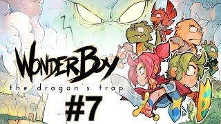 """Прохождение Wonder Boy The Dragon's Trap Серия 7 """"Сакура в цвету"""""""