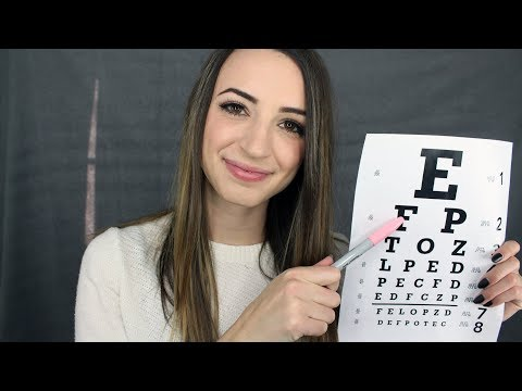 [ASMR] Eye Exam Nurse Roleplay