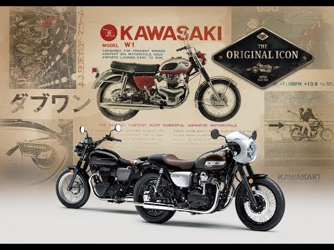2019 Kawasaki W800 STREET/CAFE - Action Video