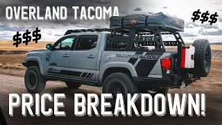 We Build an Overland Tacoma in 4 days | Price Breakdown