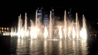 Dubai Mall/Burj Khalifa Dancing Fountain (Marlboro Theme Song)