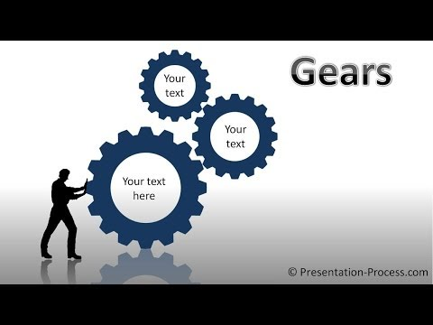 hqdefault powerpoint gear powerpoint diagram tutorial series youtube