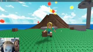 ATX Kids - Roblox - Survive the Disaster with my cousins