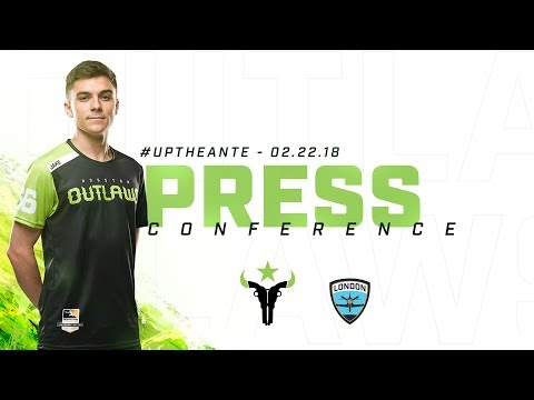 Houston Outlaws Press Conference Stage 2 Week 1 (London Spitfire)